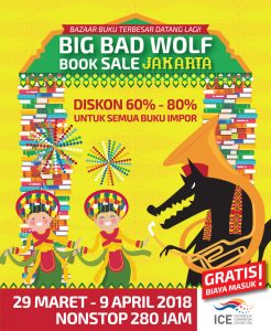 big bad wolf book indonesia 2018
